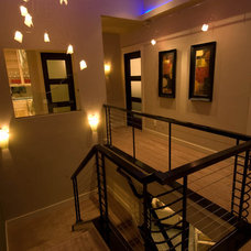 Staircase by dC Fine Homes & Interiors