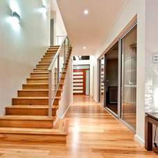 Contemporary Staircase by Your Building Broker