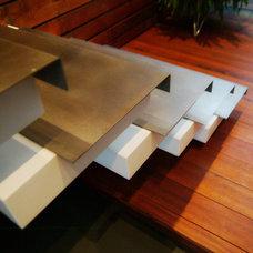 Modern Staircase by Framework Design, Inc.