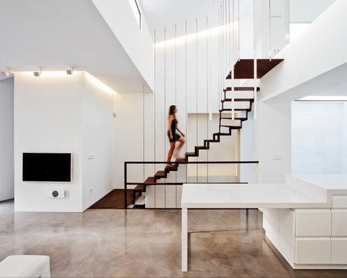 Escaleras home design ideas pictures remodel and decor - Escaleras de hormigon ...