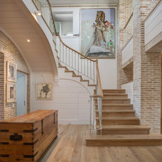 Beach Style Staircase by Wynand Wilsenach Architects