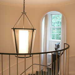 contemporary staircase by Thom Filicia Inc.