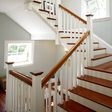 Beach Style Staircase by Margolis, Incorporated