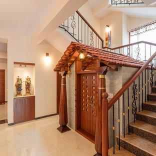 Foto på en orientalisk trappa