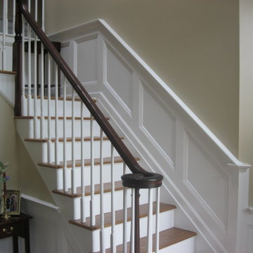 Wainscoting by Monk's Home Improvements