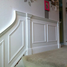 Traditional Staircase by Architectural Molding