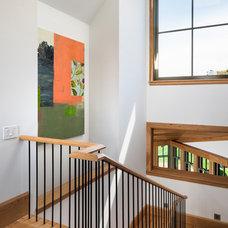 Beach Style Staircase by Sandvold Blanda Architecture + Interiors LLC