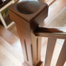 Craftsman Staircase by Schulte Construction