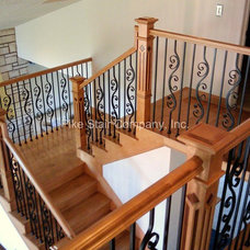 Traditional Staircase by Pike Stair Company, Inc.