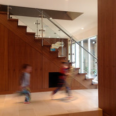 Contemporary Staircase by CAST architecture