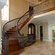 Traditional Staircase by Probuilt Woodworking LLC