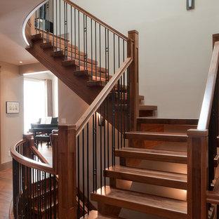 Walnut Stair