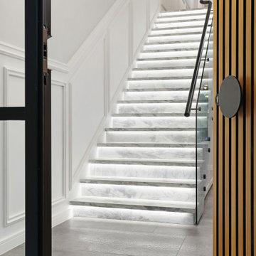 Walton marble staircase