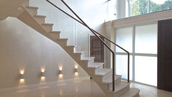 Warlingham floating stone staircase