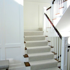 Modern Staircase by Twig Perkins Inc.
