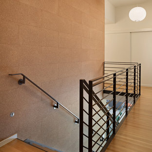 Design ideas for a midcentury staircase in Seattle.