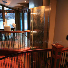 Craftsman Staircase by Luxe Water Walls