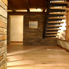 Rustic Staircase by Shepherd Resources Inc / AIA