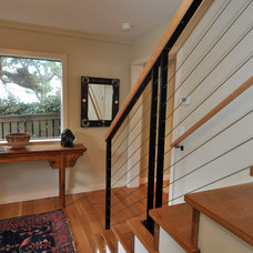 Contemporary Staircase by Ventana Construction LLC