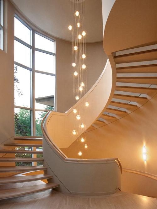 staircase lighting houzz. Black Bedroom Furniture Sets. Home Design Ideas