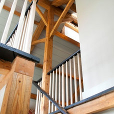 Traditional Staircase by webnash design-build, inc