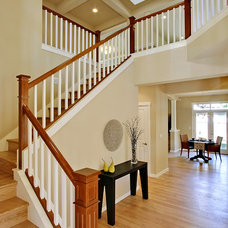 Traditional Staircase by The Alhadeff Group