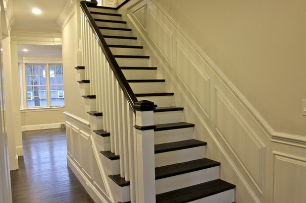 Contemporary Staircase by Blueprint Properties