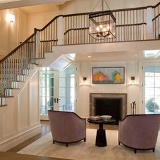 Transitional Staircase by Morehouse MacDonald & Associates, Inc. Architects