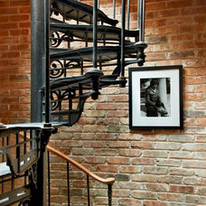 Traditional Staircase by Wells & Fox