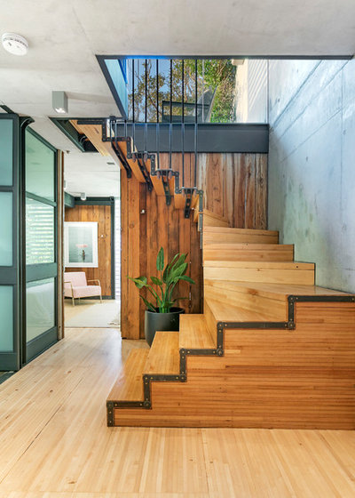 Industrial Staircase by Architecture Factory