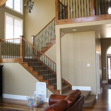 Traditional Staircase by MQ Architecture & Design, LLC