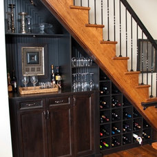 Eclectic Staircase by Shugart Wasse