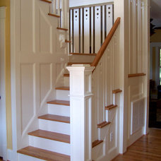 Craftsman Staircase by 2SL Design Build Inc