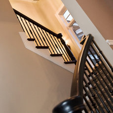 Traditional Staircase by Stonewood, LLC