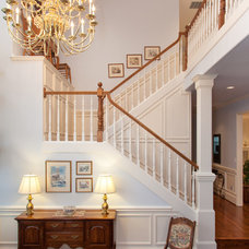 Traditional Staircase by Fraley and Company