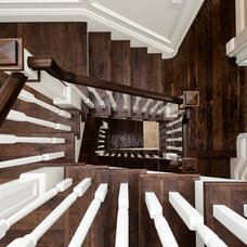 Traditional Staircase by Ripple Design Studio, Inc.