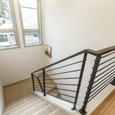 Contemporary Staircase by RD Construction