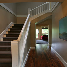Traditional Staircase by Kenorah Design + Build Ltd.