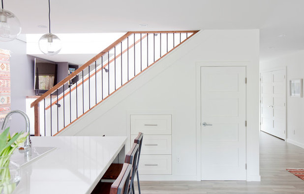 Transitional Staircase by Ritchie Construction Ltd