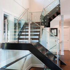 Transitional Staircase by Sarah Gallop Design Inc.