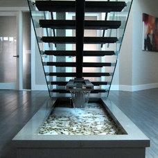 Modern Staircase by Karnak Pro Builders