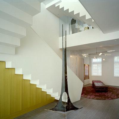 コンテンポラリー 階段 by Billinkoff Architecture PLLC