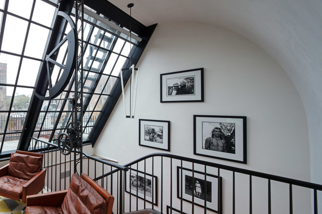 Industrial Staircase by BWArchitects (formerly Basil Walter Architects)