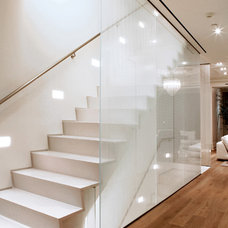 Modern Staircase by moment design + productions, llc