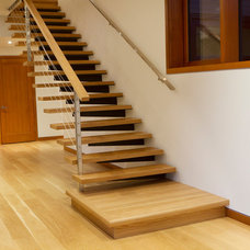 Staircase by S A Woodworking Ltd.