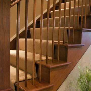 Western Run-stair detail