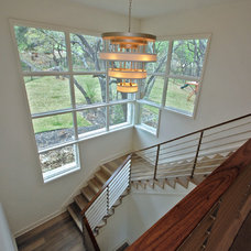Modern Staircase by Butter Lutz Interiors, LLC