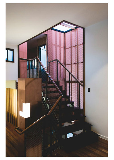 Modern Staircase by Petro Builders