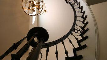 Westlake Village staircase makeover