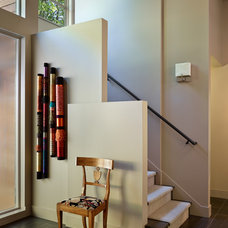 Contemporary Staircase by McClellan Architects